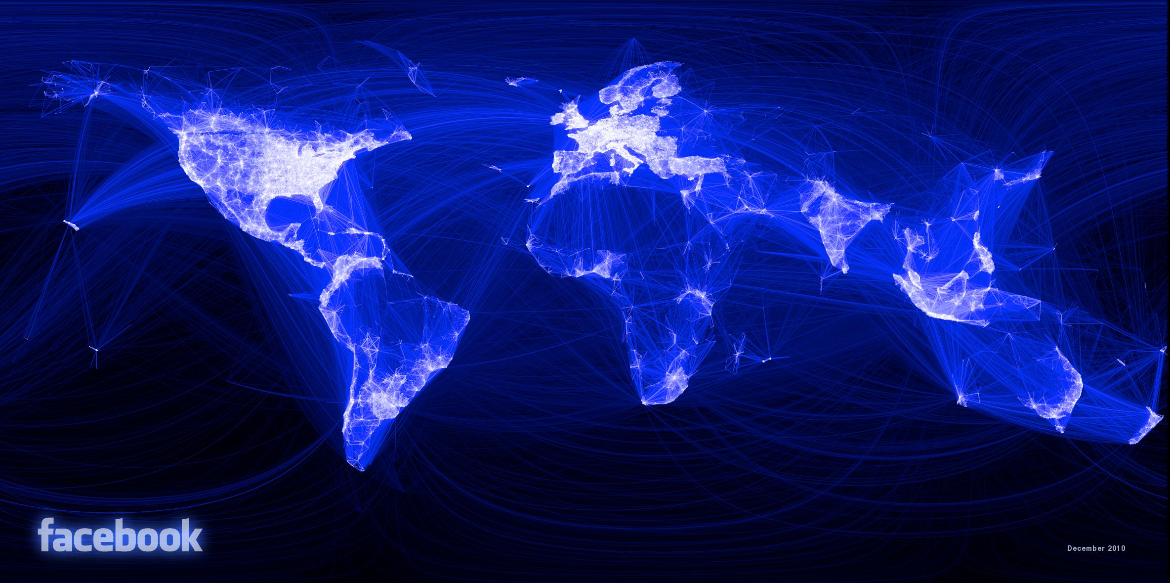 Facebookworldmap