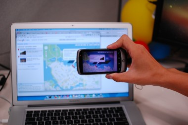 MIT, Google Researchers Tap Cellphone Cameras To Grab Data From a PC