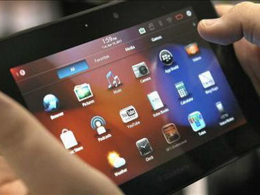 BlackBerry CEO: PlayBook Update Coming, Vague on Future