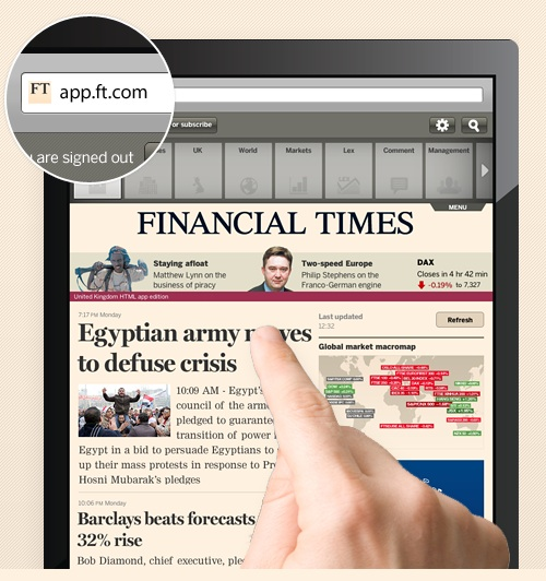 Financial Times Leaves Apple App Store Over Subscription