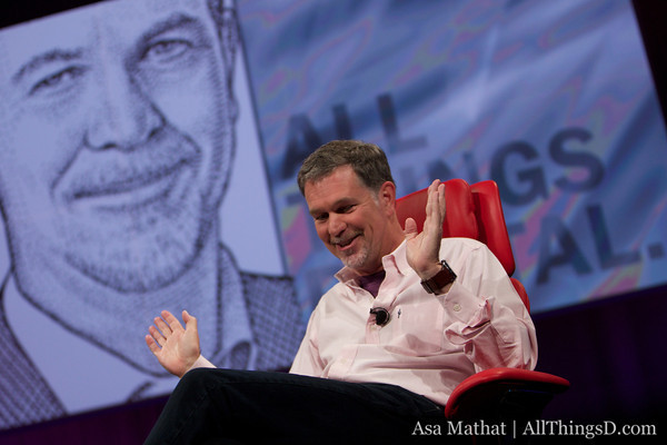 Netflix CEO Reed Hastings Complains About Comcast on