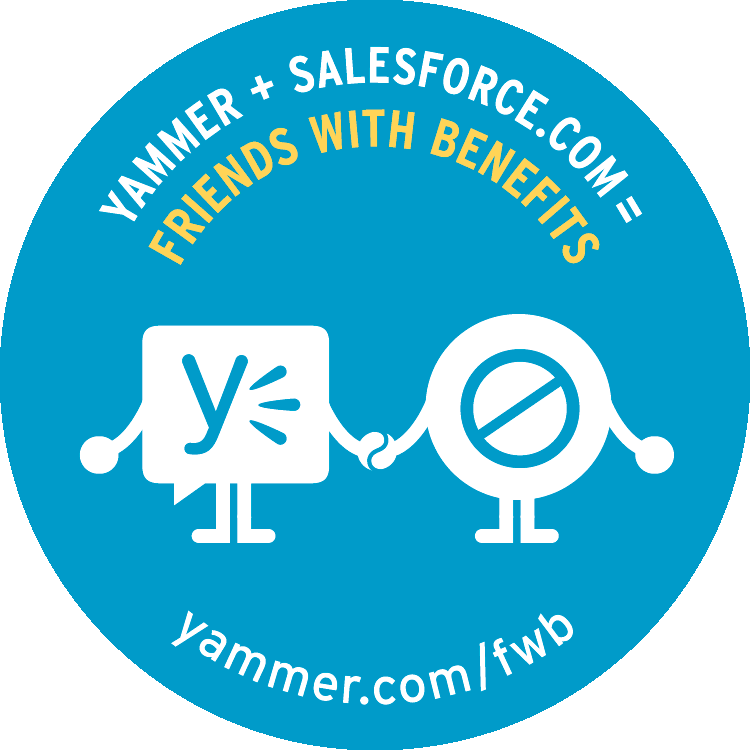 "Yammer ""Friends with Benefits"" campaign"
