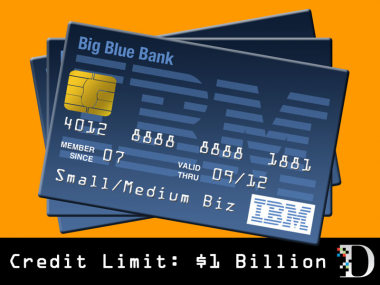 Big Blue Bank - IBM Stakes $1 Billion on Small Businesses