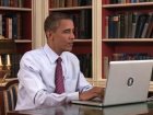Barack Obama Mac Laptop