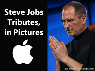 Steve Jobs Tributes, in Pictures