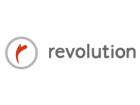 Revolution logo feature