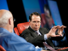 Randall Stephenson with Walt at D