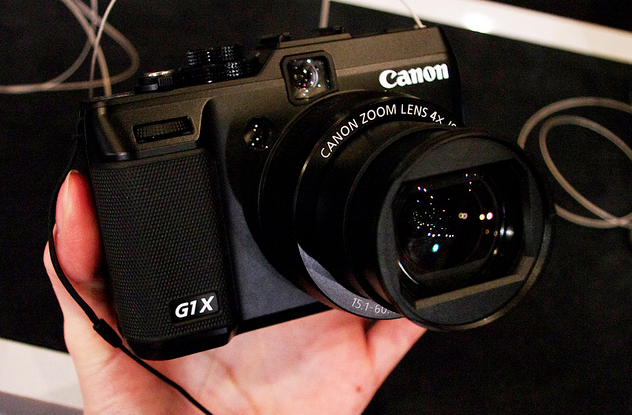 is canon working on full frame compact camera rumor
