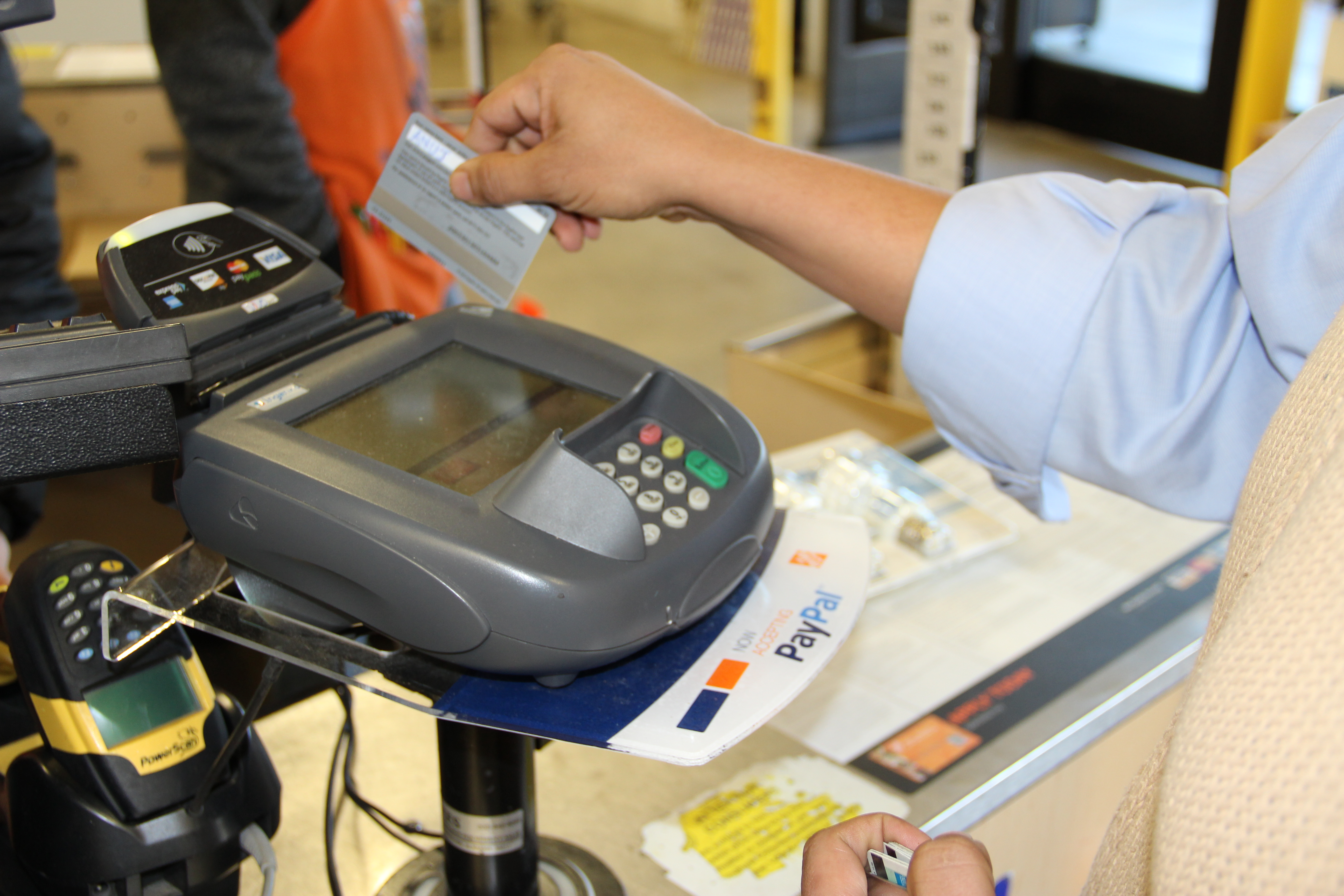 Paypals in store payments system hits home depot stores across within colourmoves
