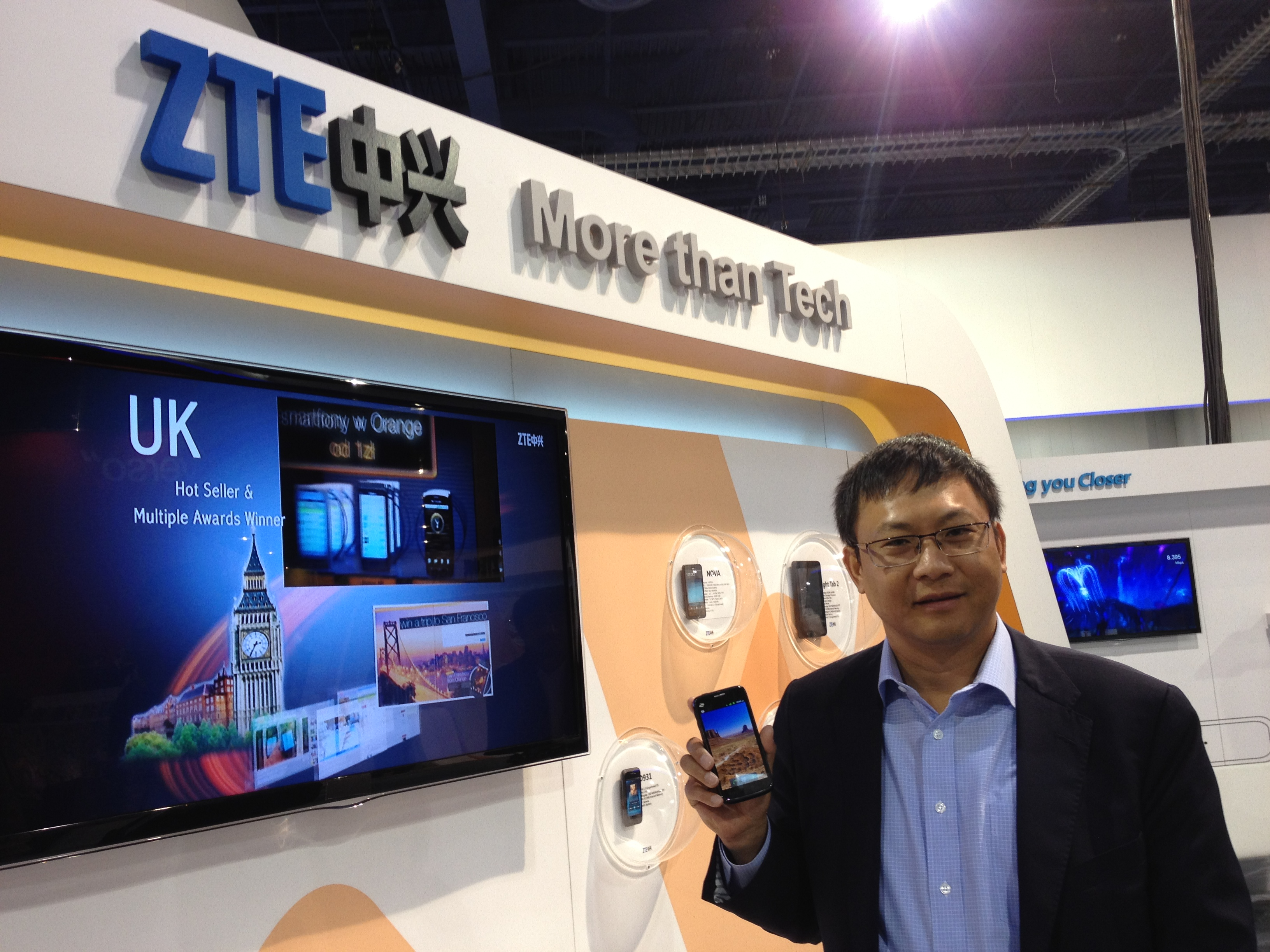 zte smartphone company from