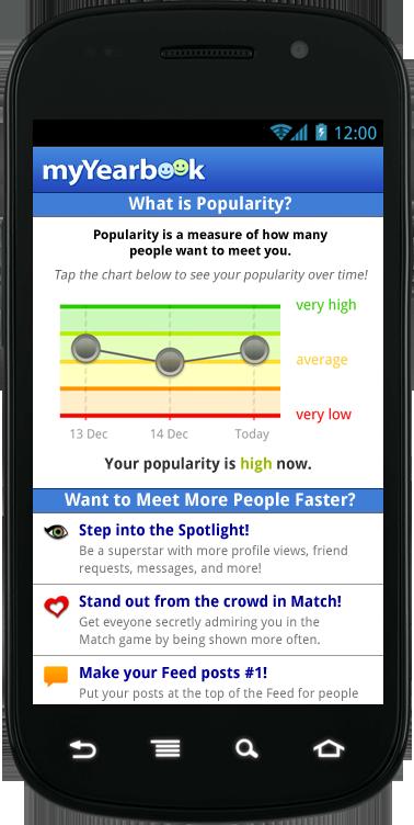 Myyearbook mobile app