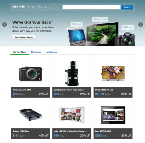 Decide com Says It Will Accurately Predict Prices or Your