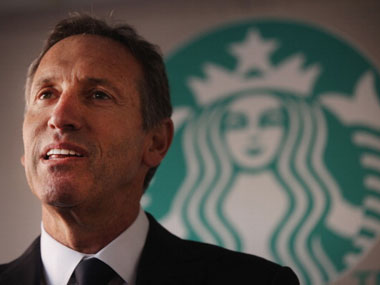 Howard Schultz headshot