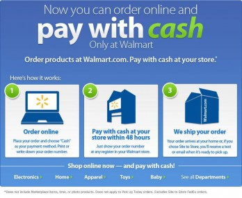Wal mart online shopping