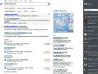 Bing's Snapshot column helps users do things like make a hotel reservation. Its Sidebar column, far right, shows friends who may have answers to help with a person's current search.
