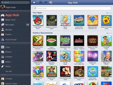 Facebook Games And Apps