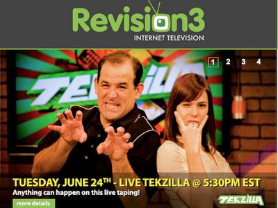 Tekzilla | Revision3