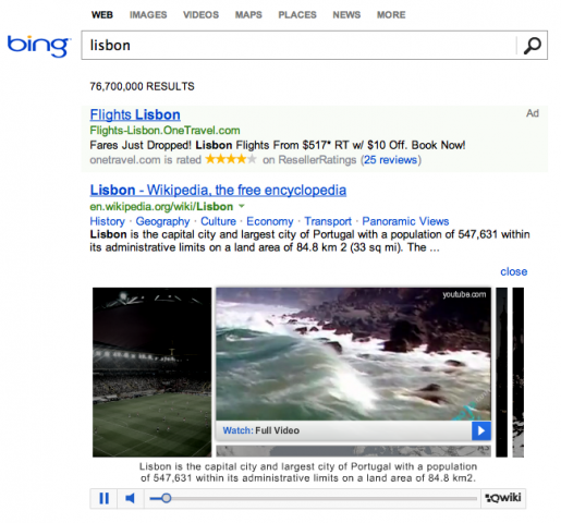 Bing Finance: Remember Qwiki? It Will Now Appear On Millions Of Bing