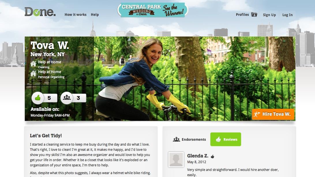 Outsourcing Chores to Strangers Online - Lauren Goode