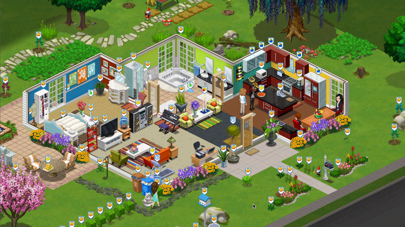 zynga taking on ea 39 s sims social with its next game called the vill