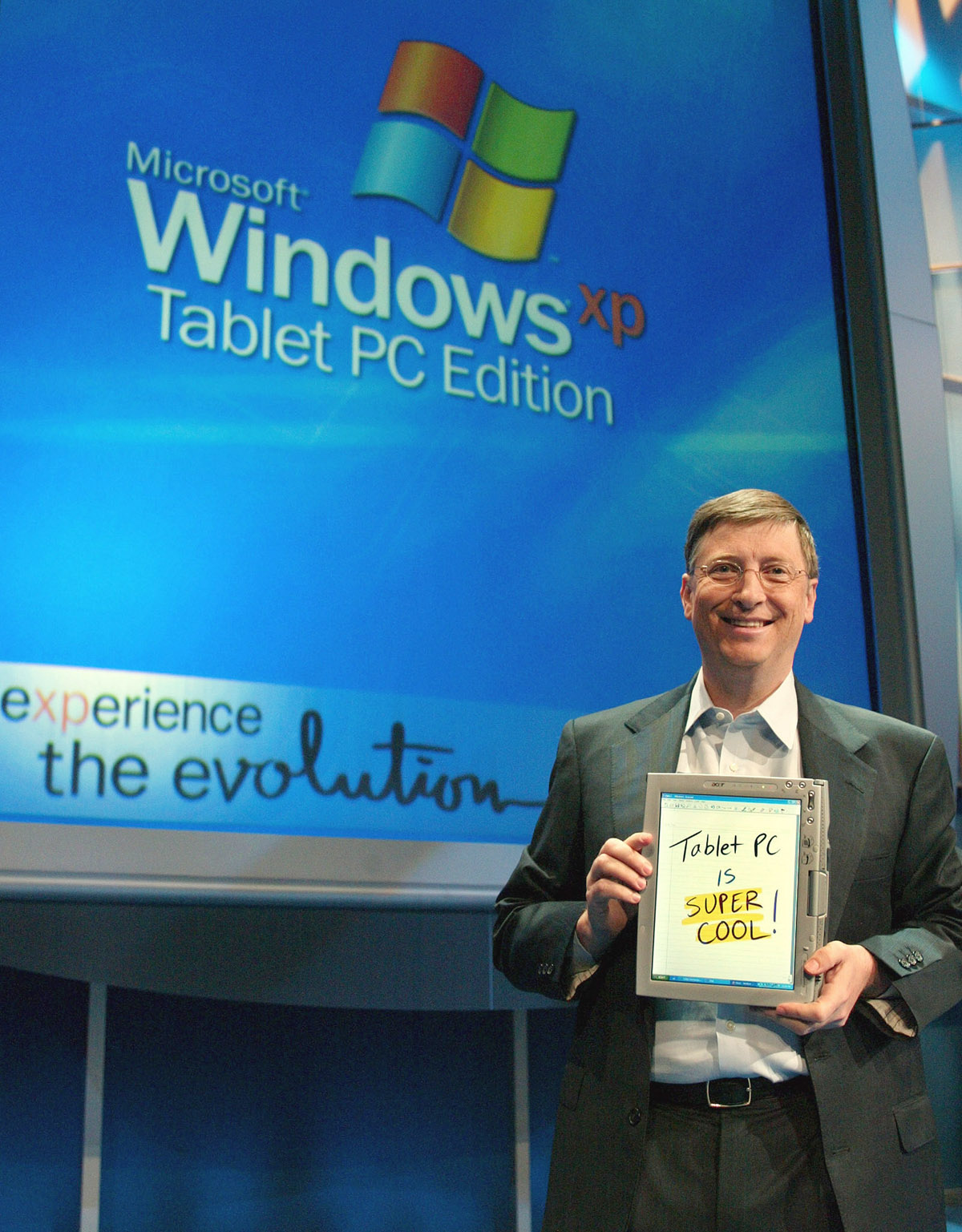 Microsoft's Long Love Affair With Tablets