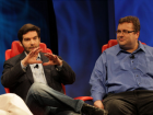 LinkedIn CEO Jeff Weiner and Chairman Reid Hoffman