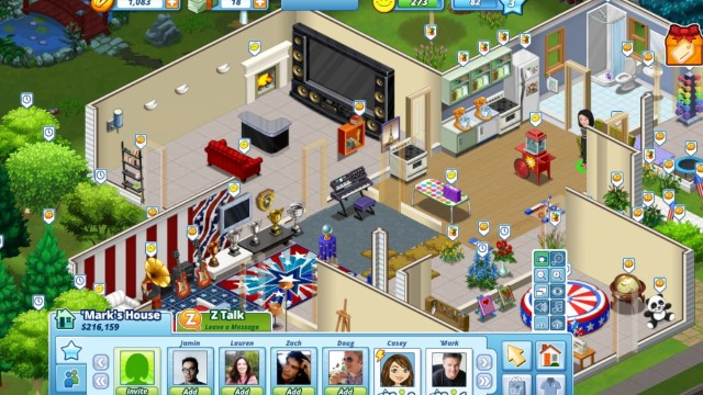 Build Virtual Worlds On Facebook In The Ville Simcity Social Lauren Goode Product Reviews Allthingsd