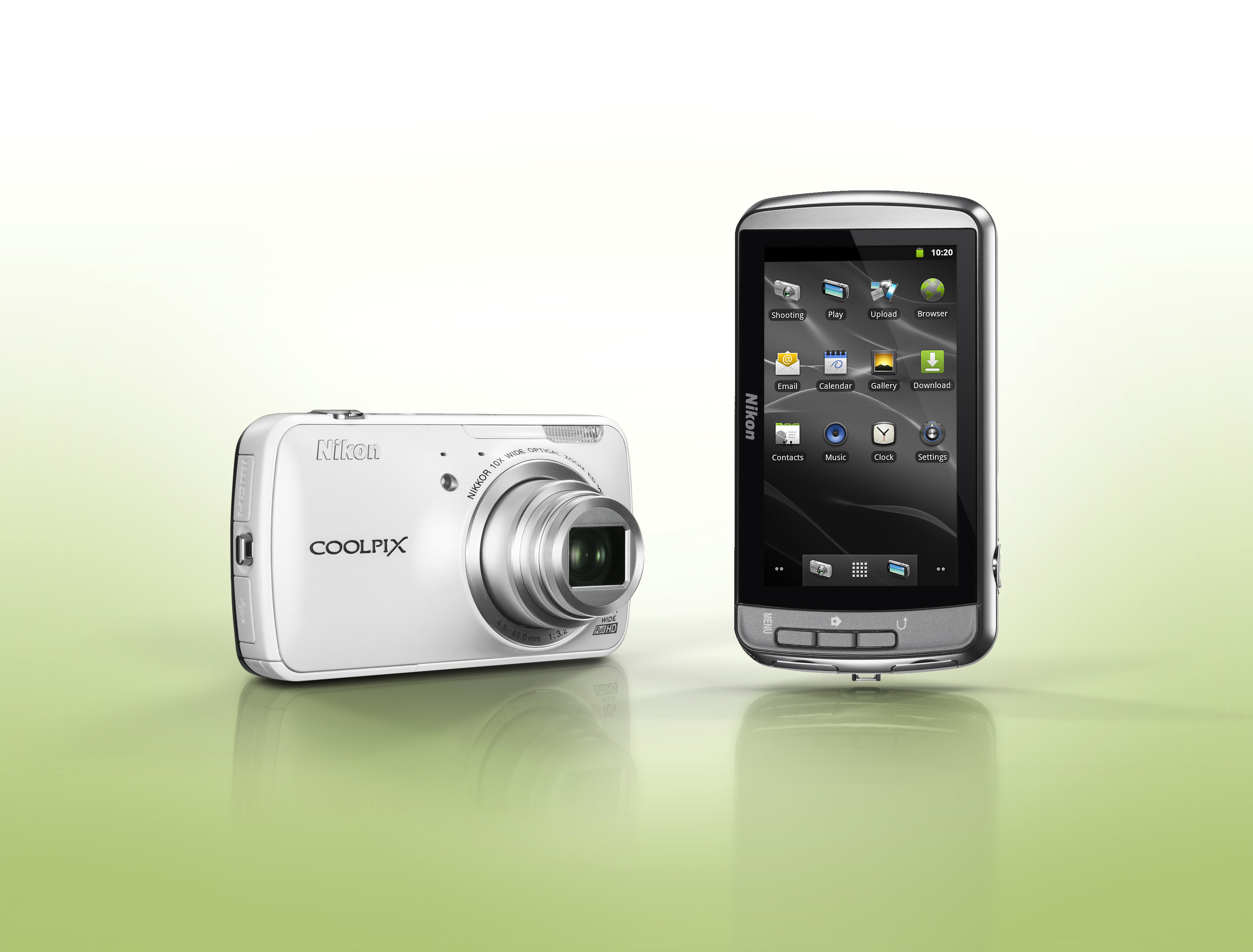 Nikon Launches Nikon Coolpix S800c With Android OS ...