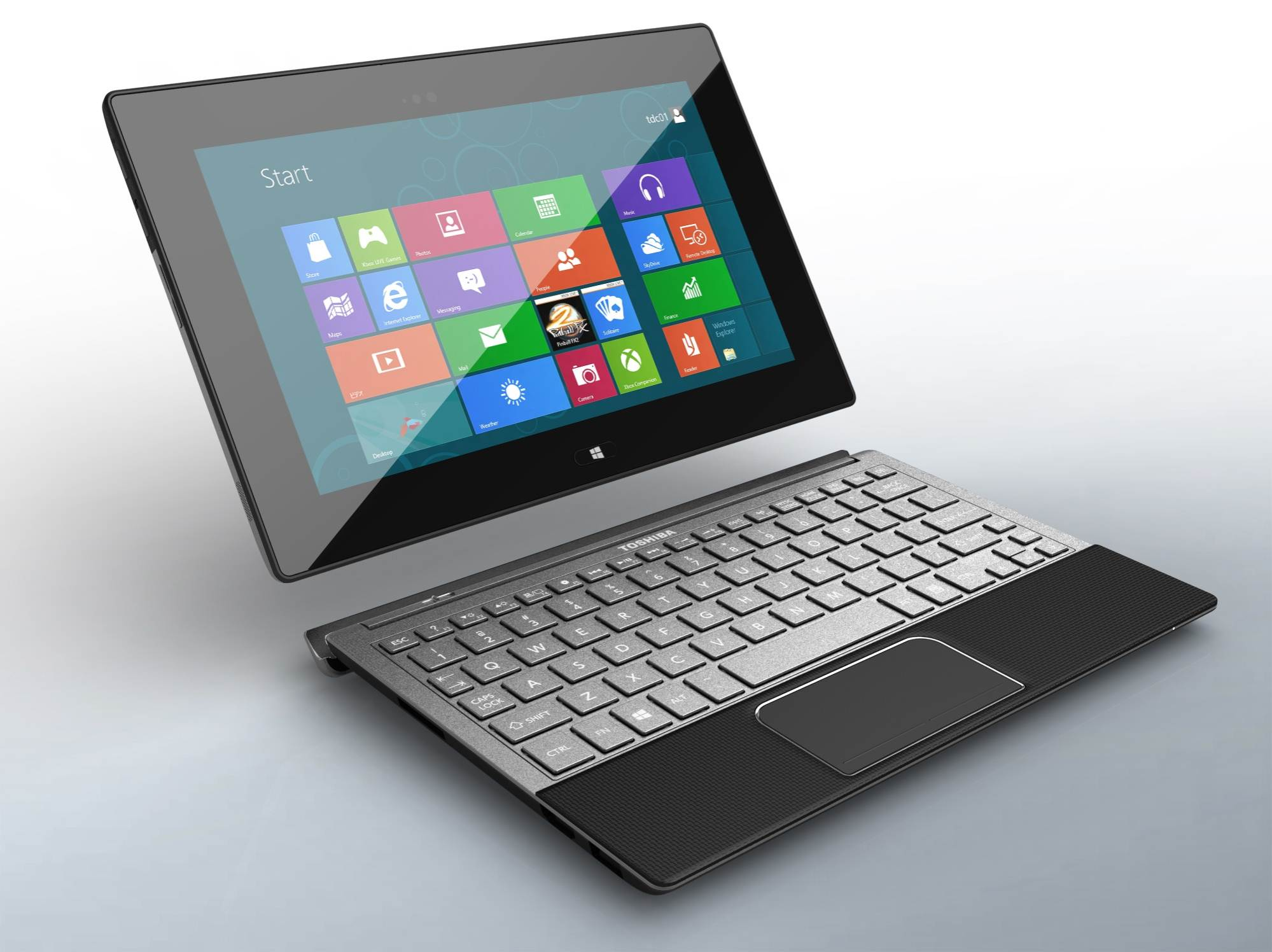 Toshiba scraps plans for windows rt tablet notebook ina for Notebook tablet