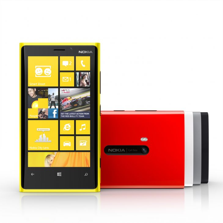 Nokia debuts lumia 920 with windows phone 8 wireless for New windows products