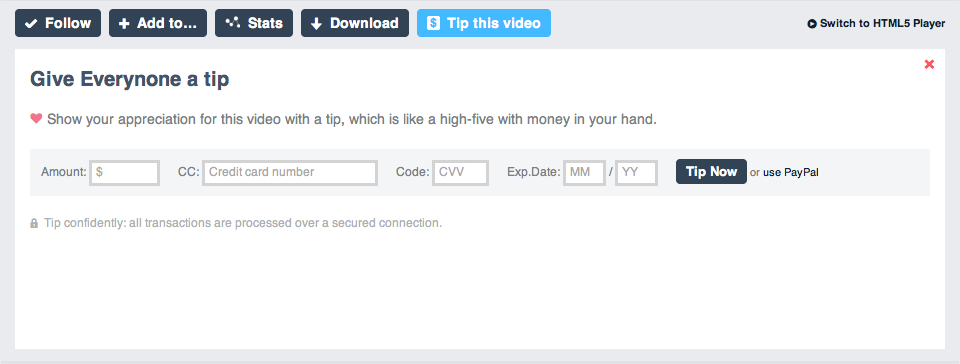 Vimeo Lets Video Makers Hold Out a Tip Jar - Peter Kafka
