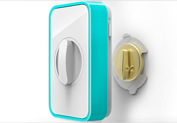New Lockitron, the Keyless Lock, Will Message You When Someone ...