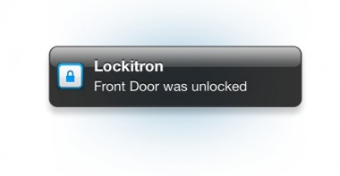 New Lockitron The Keyless Lock Will Message You When