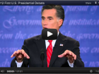 Romney YouTube debate