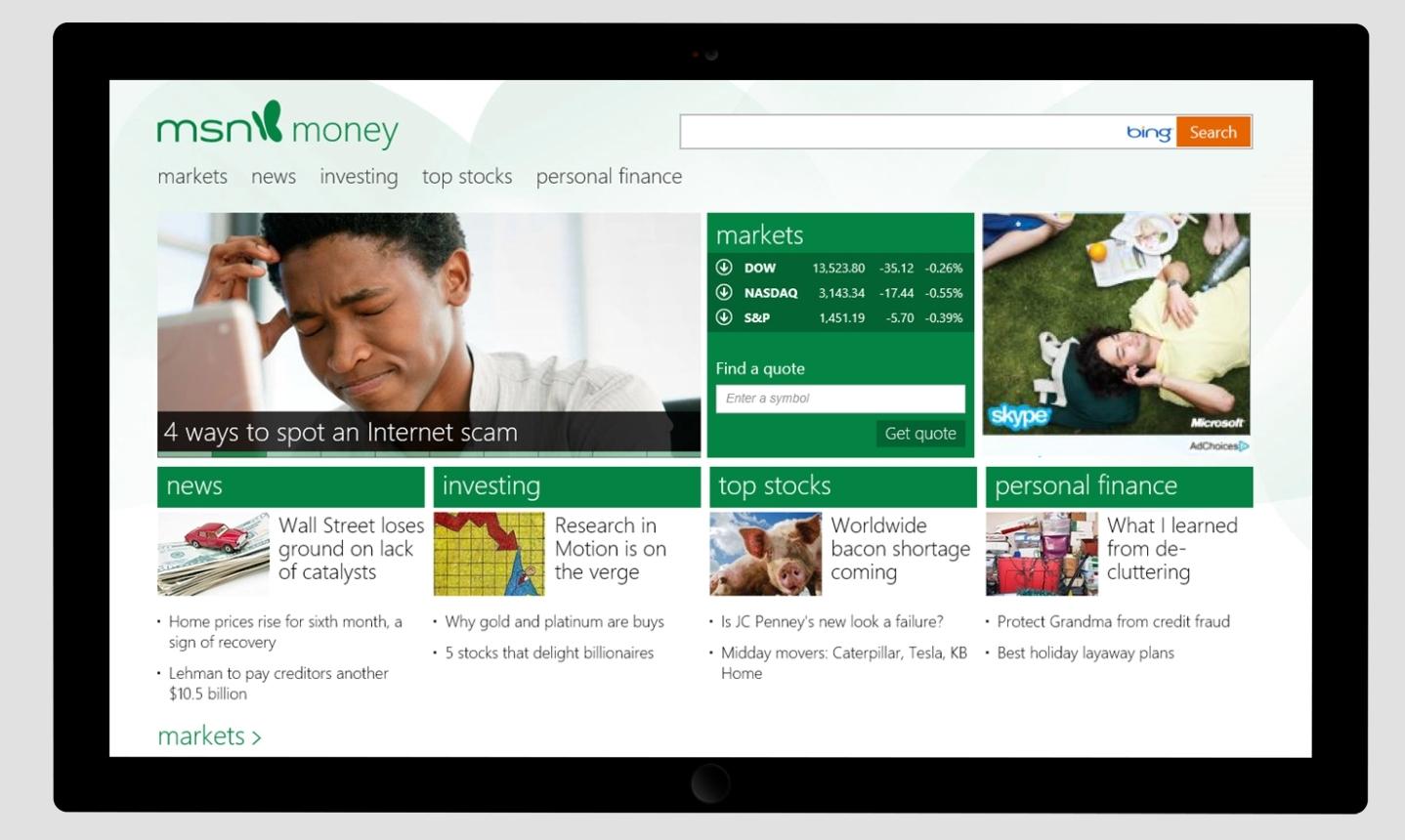 MSN Gets Major Refresh With Windows 8 - Kara Swisher