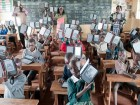 Worldleader provides Amazon Kindles to kids in classrooms in Africa