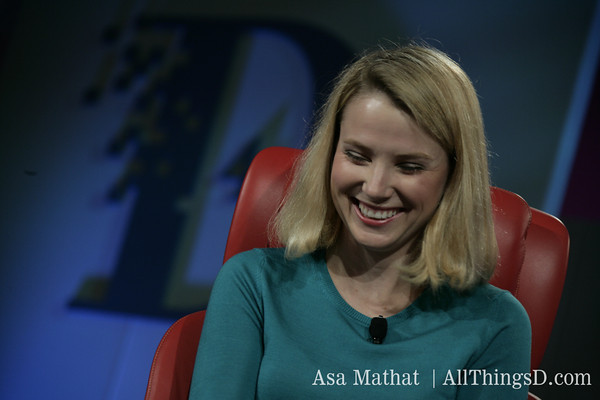 Marissa Mayer's First Live Interview: God  Family  Yahoo