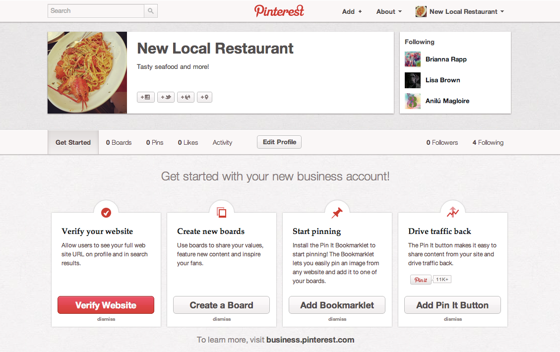 Pinterest Removes Ban On Commercial Use As It Adds Business Accounts