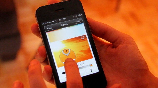 Controlling your lights with smartphone friendly philips - Control lights with smartphone ...