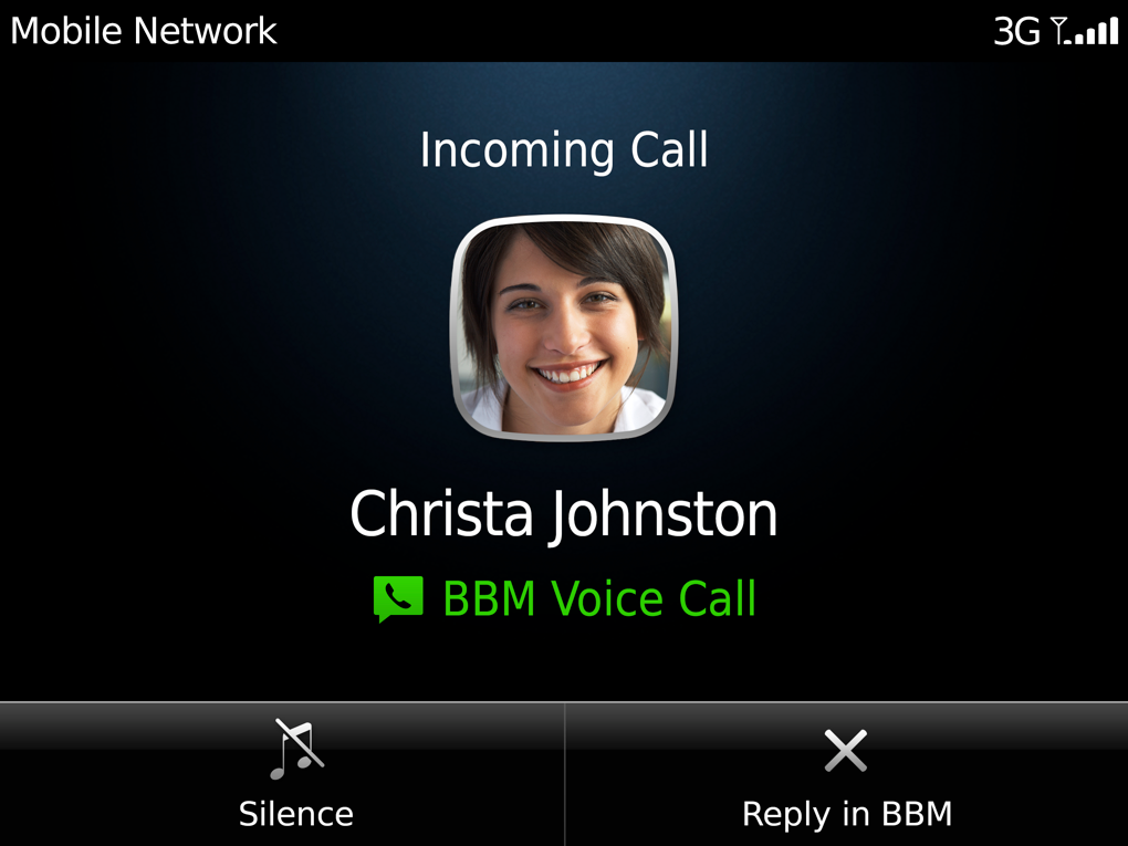 RIM Adds Free WiFi Voice Calling to BlackBerry Messenger