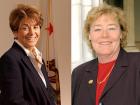 U.S. Reps. Anna Eshoo and Zoe Lofgren