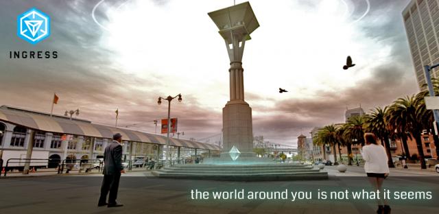 Google Luncurkan Ingress, Game Realitas Berbasis Lokasi