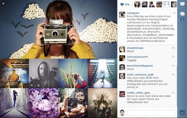 As Instagram Debuts Web Profiles, It's Beginning to Look a Lot Like Facebook