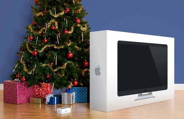 Apple TV under the Christmas tree
