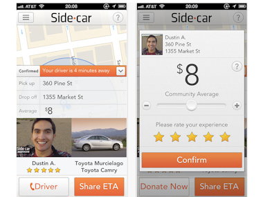 Sidecar Ride App >> California Clears Sidecar Ride Sharing App Months After