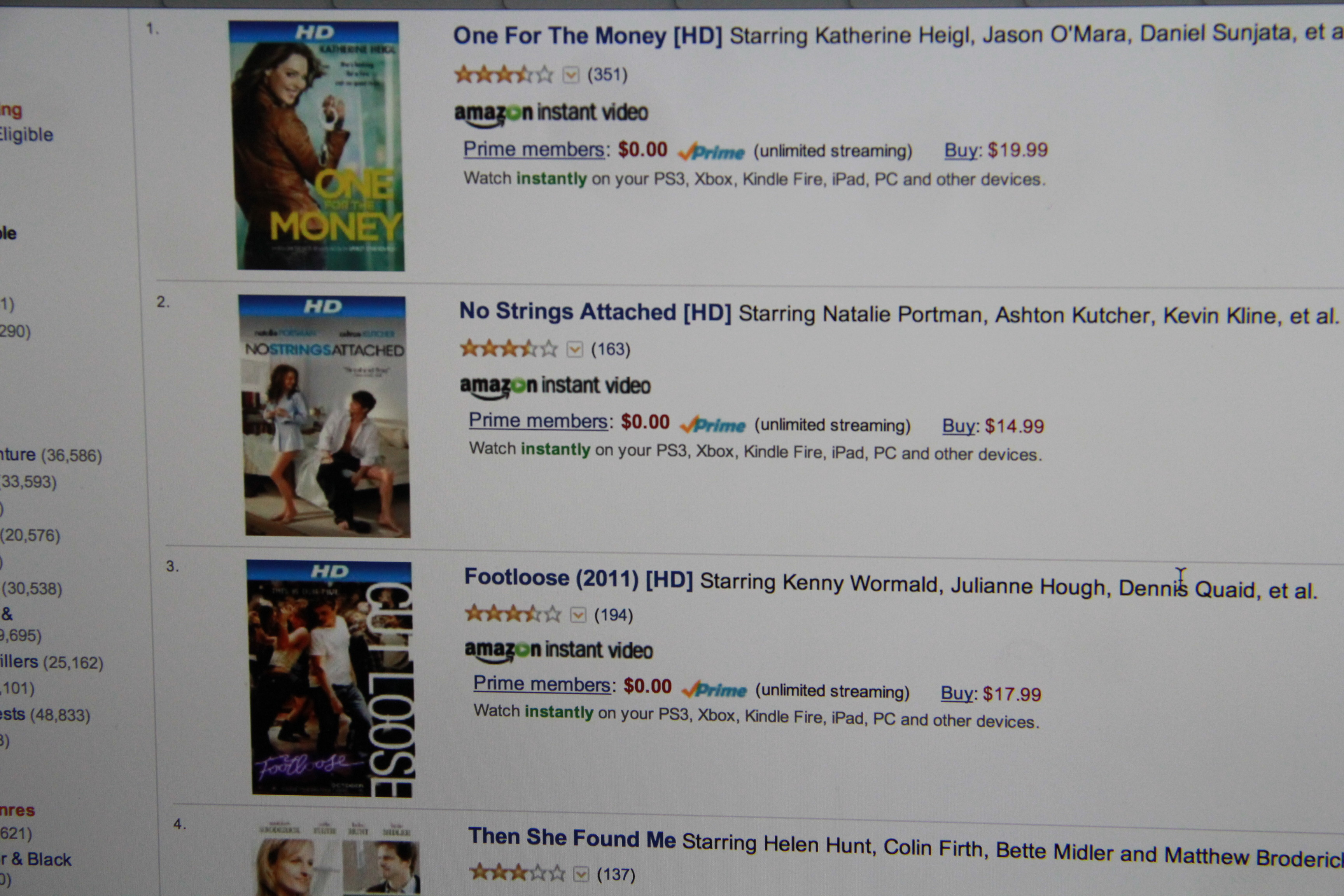Share your Opinion on amazon prime vs netflix selection 2013 Clinic