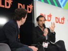 Yahoo COO Henrique De Castro, right, in conversation at DLD Munich.