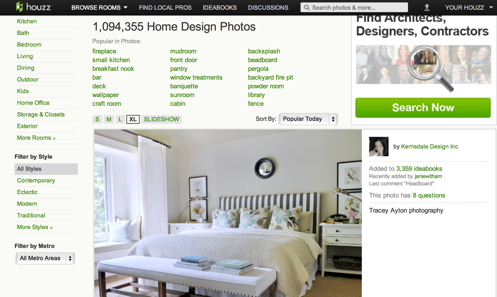Home remodeling app houzz brings home 35 million lauren for Apps for home remodeling