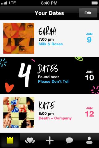 crazy blind date calendar