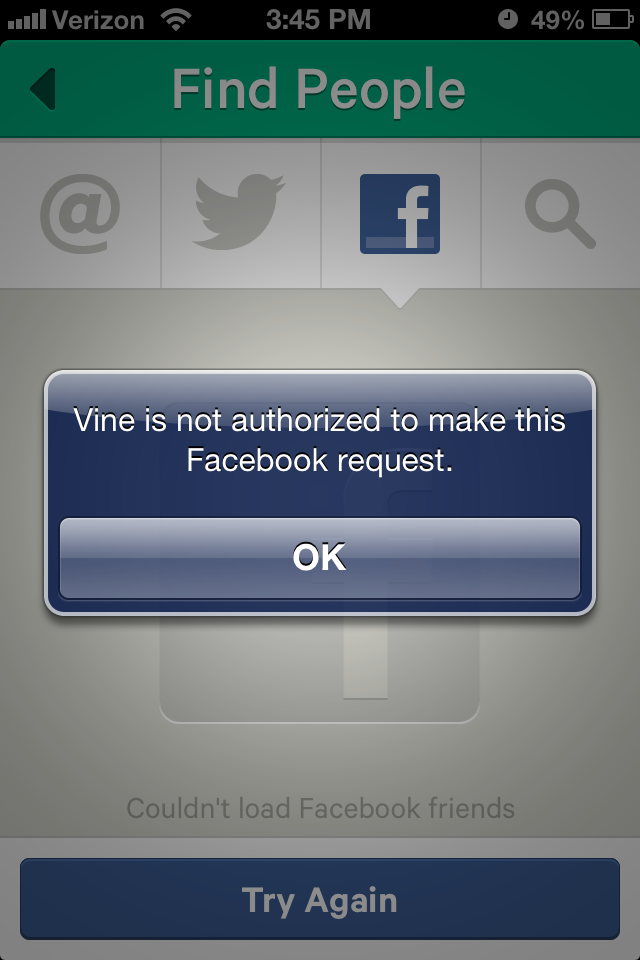 What Does Sd Mean >> Facebook Cuts Off Friend-Finding Access to Vine, Twitter's ...